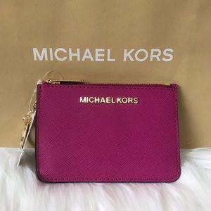 NEW! MICHAEL KORS COINPOUCH ID CARD HOLDER